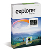 Explorer Ream A4 100g with Ecolabel and FSC