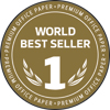 World Best Seller badge